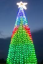 3D-освещение елки